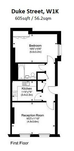 Duke Street, Mayfair, W1K Floorplan 1