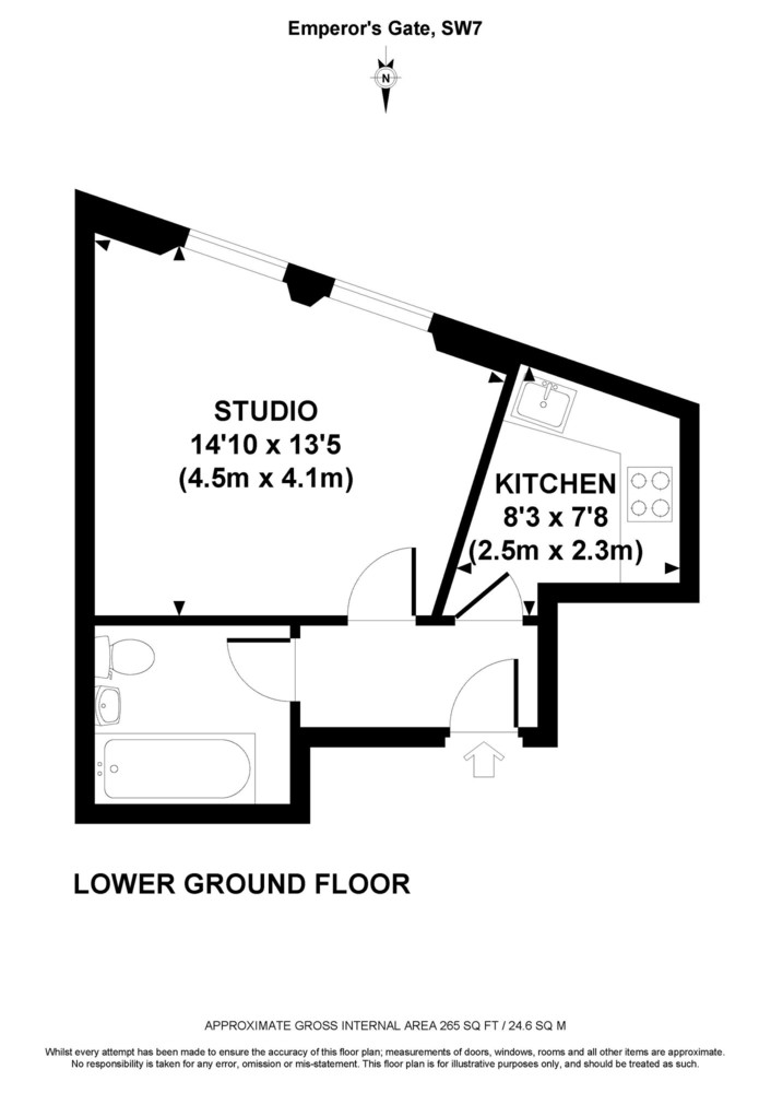 Emperor's Gate, Kensington, SW7 Floorplan 1