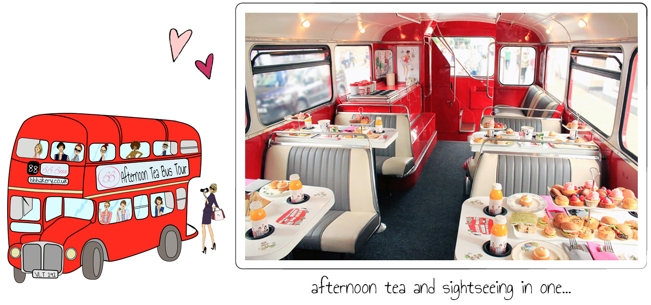 BB Bakery - Afternoon Tea Bus